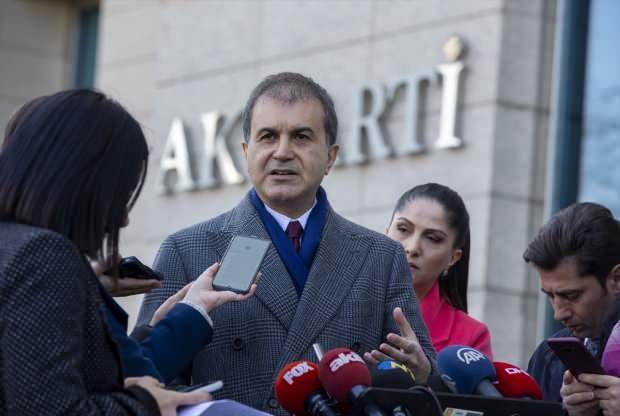 AK Parti Sözcüsü Ömer Çelik toplantı sonrası açıklamalarda bulunmuştu....