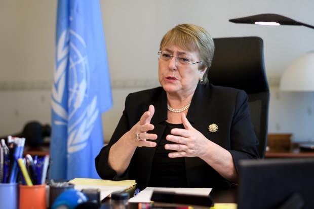 Son Dakika / BM İnsan Hakları Yüksek Komiseri Michelle Bachelet....