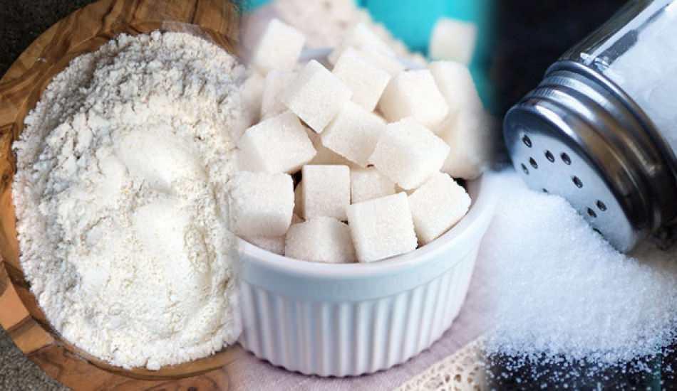 3 beyazdan uzak durarak zayıflama yöntemi! Şeker ve tuz nasıl bırakılır? 3 beyaz diyeti