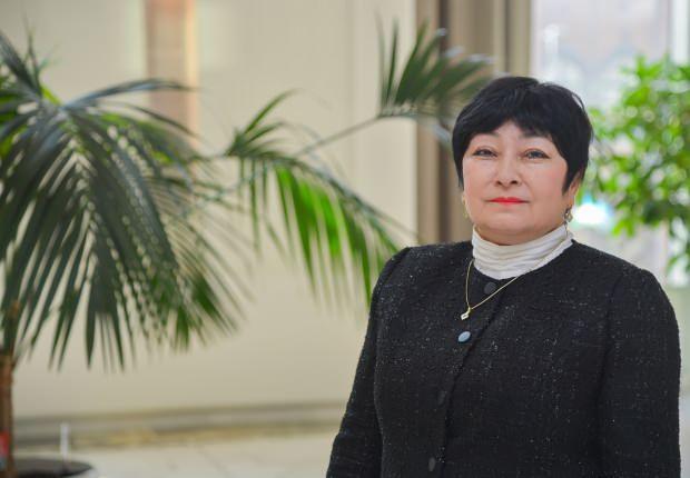 Özbekistan Kültür Bakan Yardımcısı Kamala Akilova