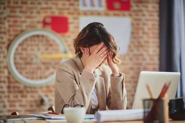 aşırı stres iş ortamında sürekli yorgunluğa neden olur