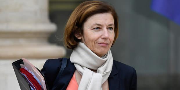 Fransa Savunma Bakanı Florence Parly....