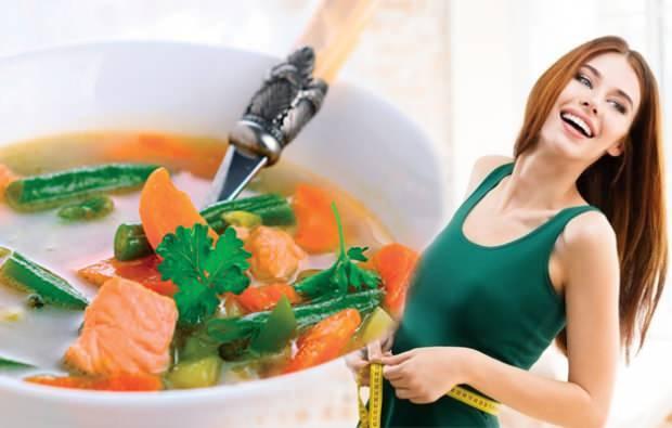 Çorba içerek zayıflama yöntemi