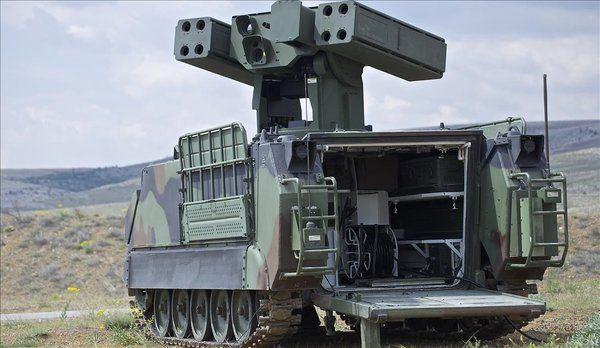 Milli Hava Savunma Sistemi ATILGAN KMS İdlib sınırında