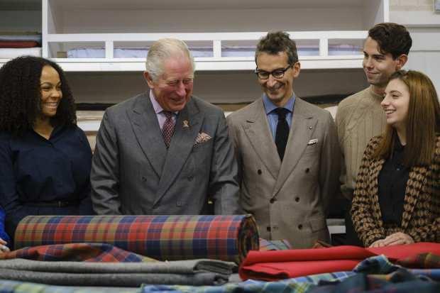 Prens Charles çalışmaları yerinde takip etti