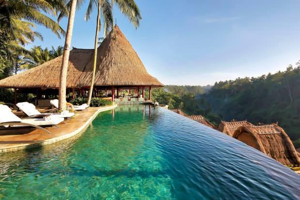 Bali manzarası