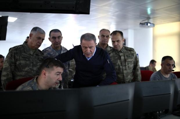 Son dakika - Hulusi Akar öldürülen Esed askeri sayısını açıkladı