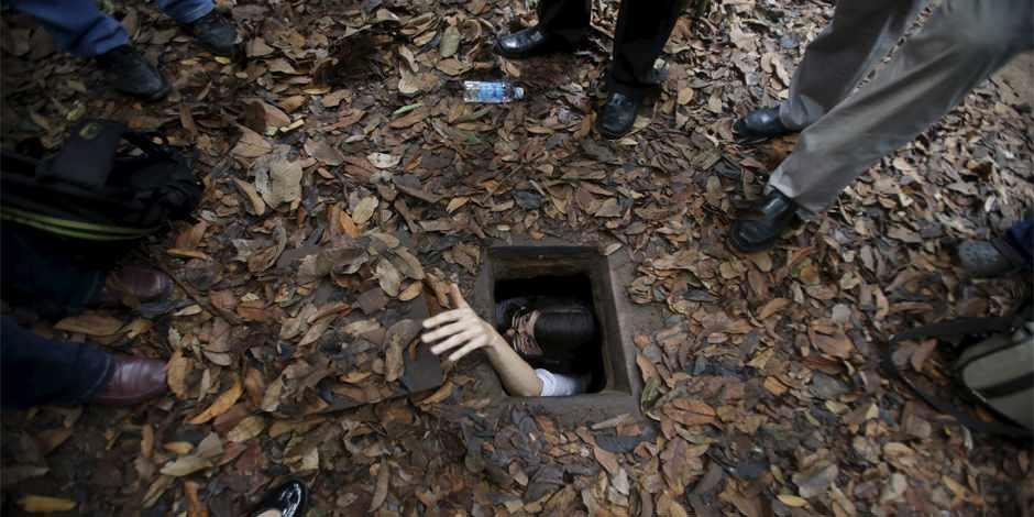 Cu Chi Tünelleri Vietnam savaşının dönüm noktası