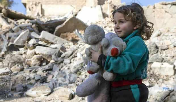 Katar'dan Suriye'ye insani yardım