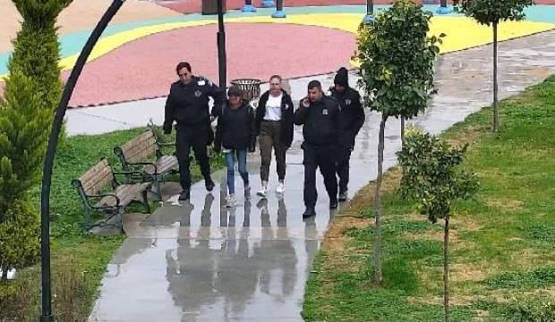 Kayıp kızları belediyenin özel güvenlik görevlileri buldu