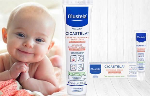 Mustela Cicastela bakım kremi nasıl kullanılır?