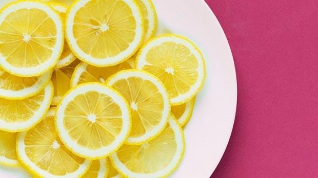 Bölgesel zayıflama için limon kürü