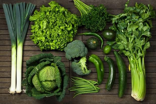 yeşil sebzeler glutatyon maddesi bakımından zengindir