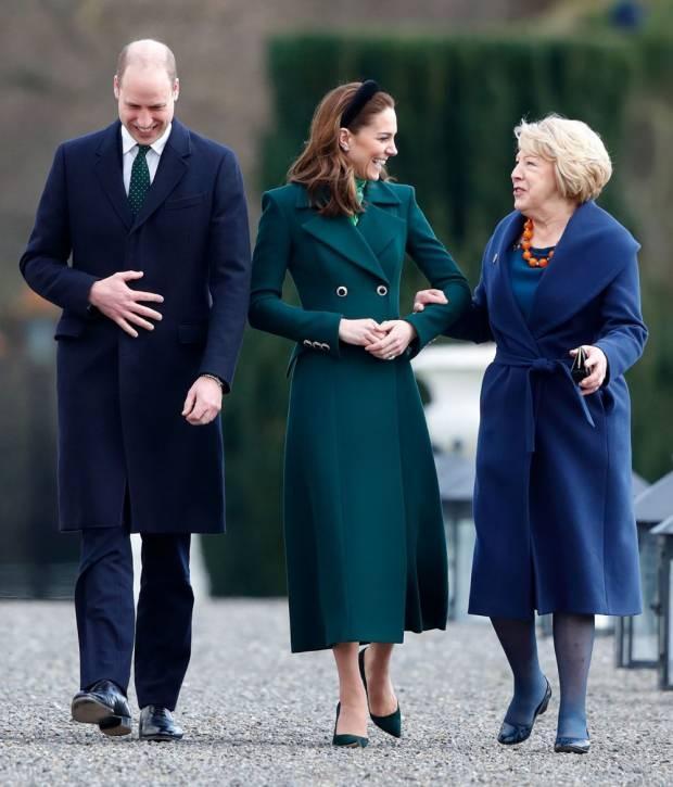 Kate Middleton'un Dublin ziyareti
