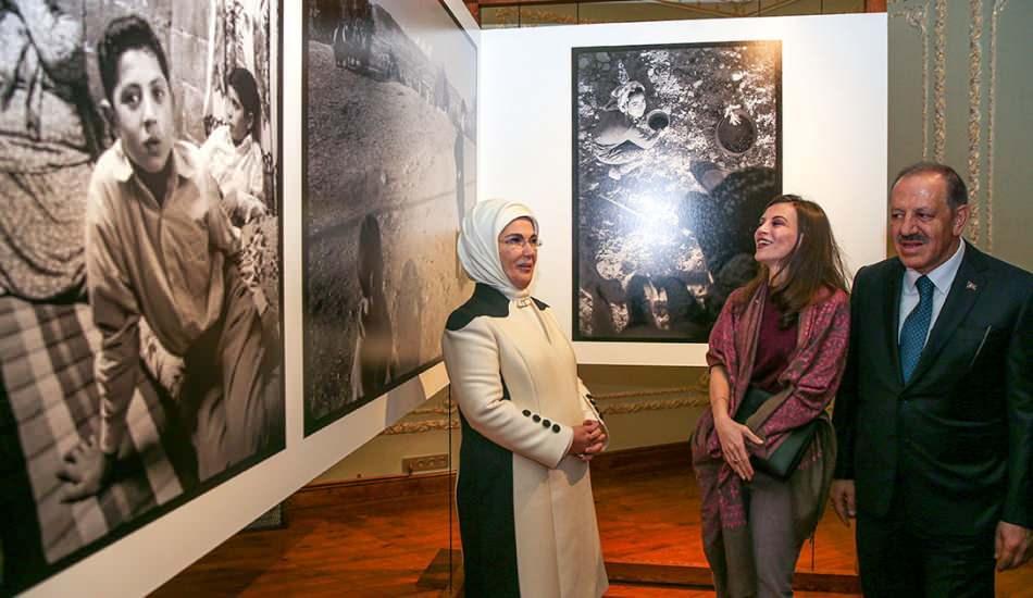 Kalyon Kültür kapılarını sanata açtı! Açılışı Emine Erdoğan yaptı