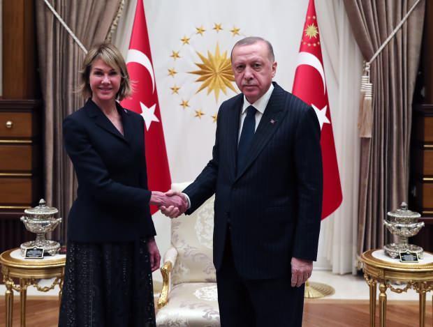 Son Dakika / Craft, Erdoğan tarafından Beştepe'de kabul edilmişti...