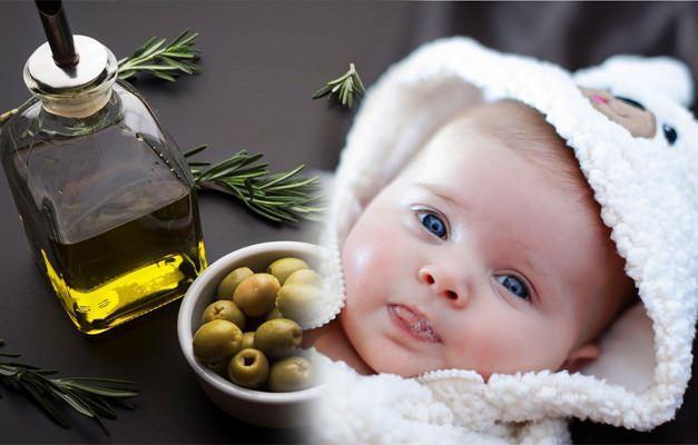 Bebeklere zeytinyağı içirilir mi?