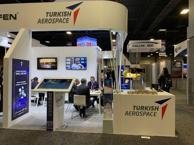 Türkiye'nin dev uydu firmaları, ABD'de düzenlenen dünyanın en büyük uydu fuarı Satellite 2020'de stant açtı.