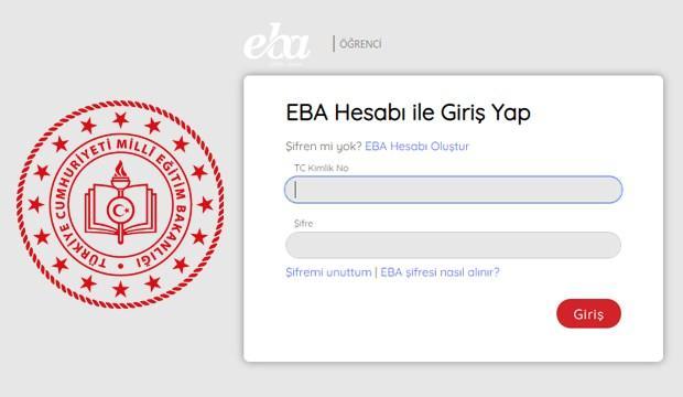 EBA TV öğrenci girişi yapma!  EBA TV şifre nasıl alınır?
