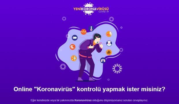 Online Corona virüs testi nasıl yapılır? Koronavirüs testi soruları neler? 1