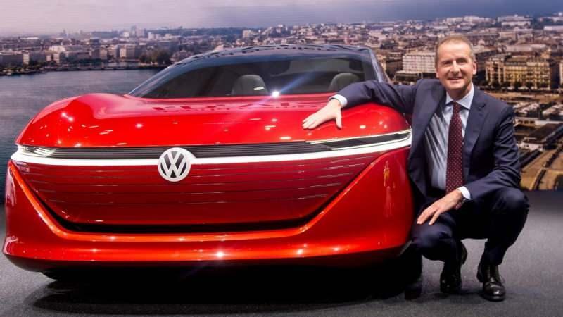 Volkswagen Grubu CEO'su Herbert Diess