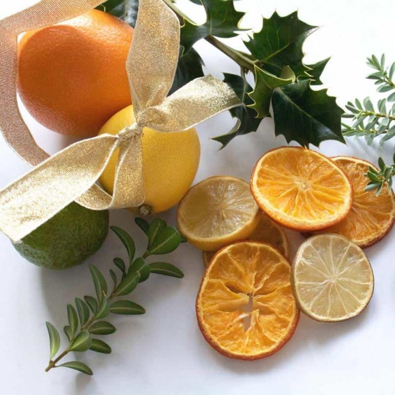 Portakal kurutma tekniği