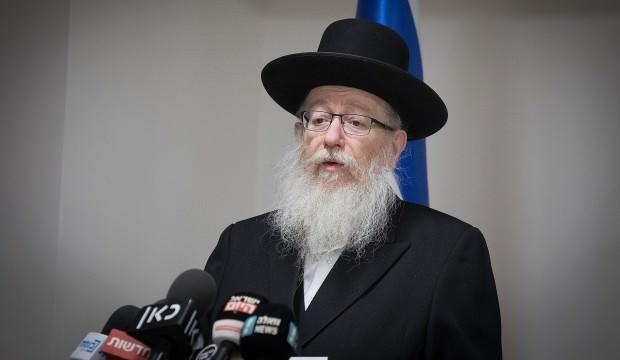 Yaakov Litzman ile ilgili görsel sonucu