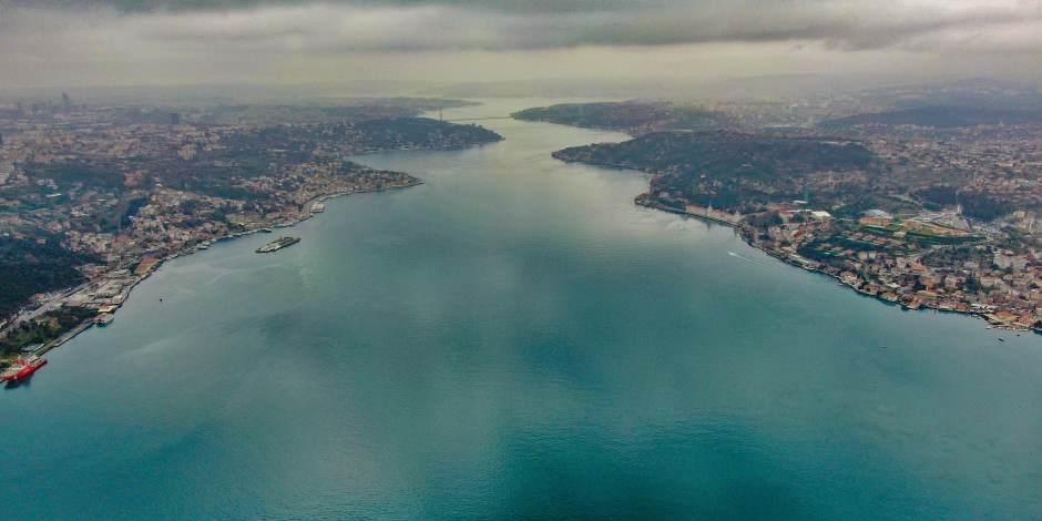 İstanbul Boğazı'ndan eşsiz manzaralar