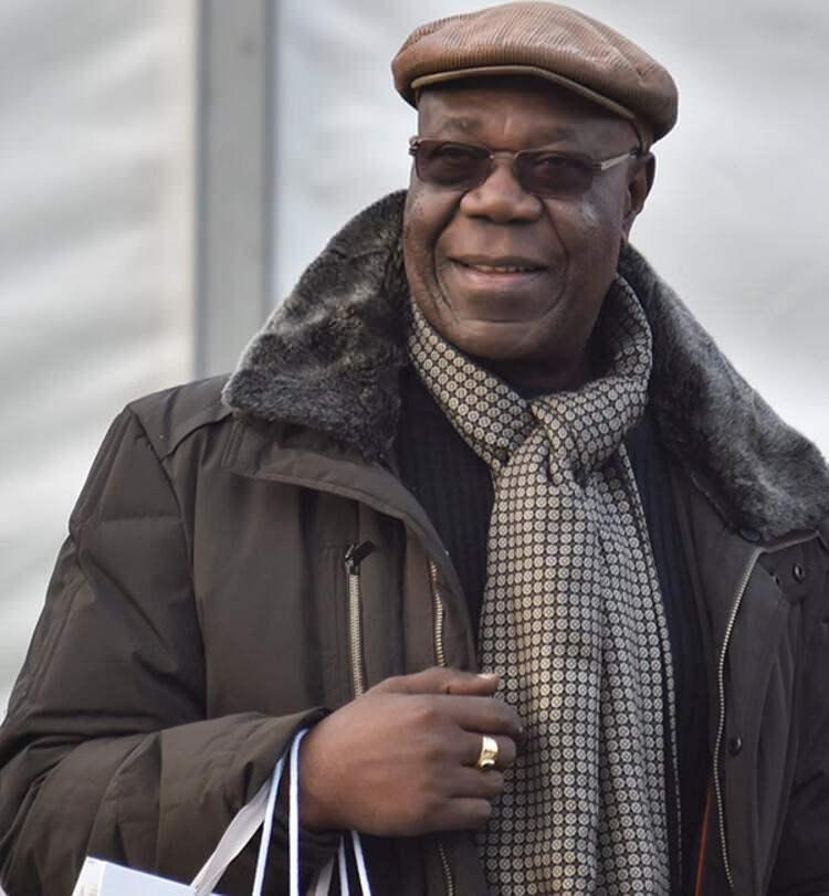 Dünyaca ünlü müzisyen Emmanuel N'Djoke Dibango