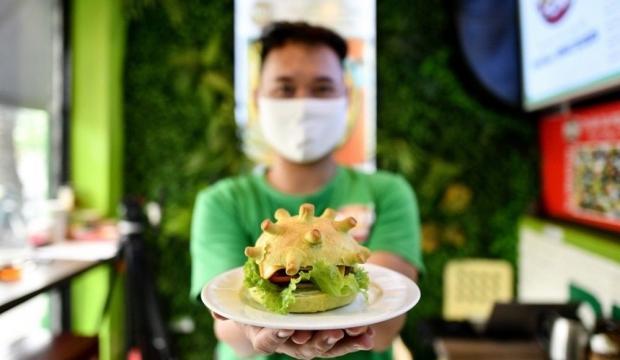 Vietnam'da Coronaburger satışları başladı! Yok artık dedirtti ...