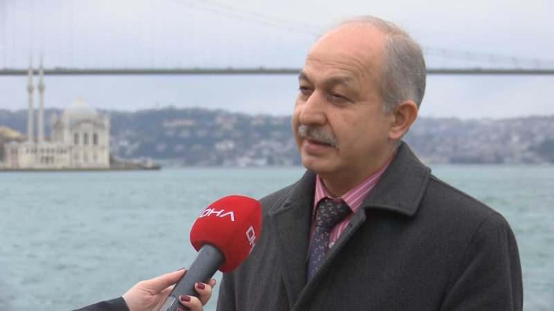 İstanbul Teknik Üniversitesi Meteoroloji Mühendisliği Bölümü Öğretim Üyesi Prof. Dr. Hüseyin Toros.