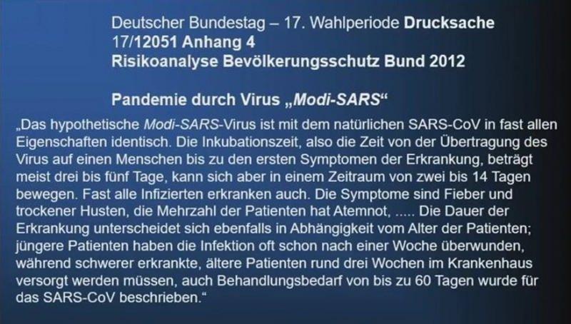 İşte Almanya'nın 10.12.2012 tarihli raporu...