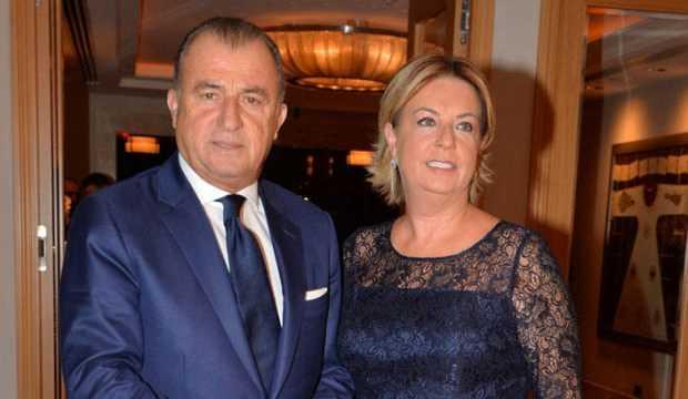 Terim'in eşi ABD'den İstanbul'a geldi!