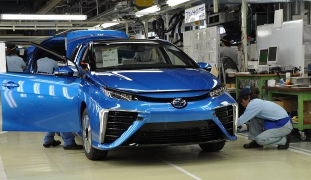 Toyota Japonya'daki üretime ara verdi!