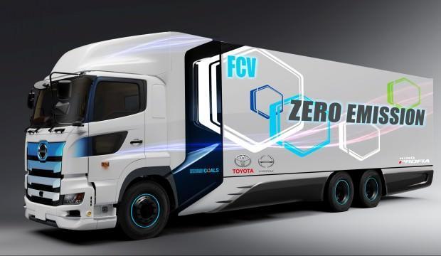 Toyota'dan hidrojen yakıt hücreli ticari araç
