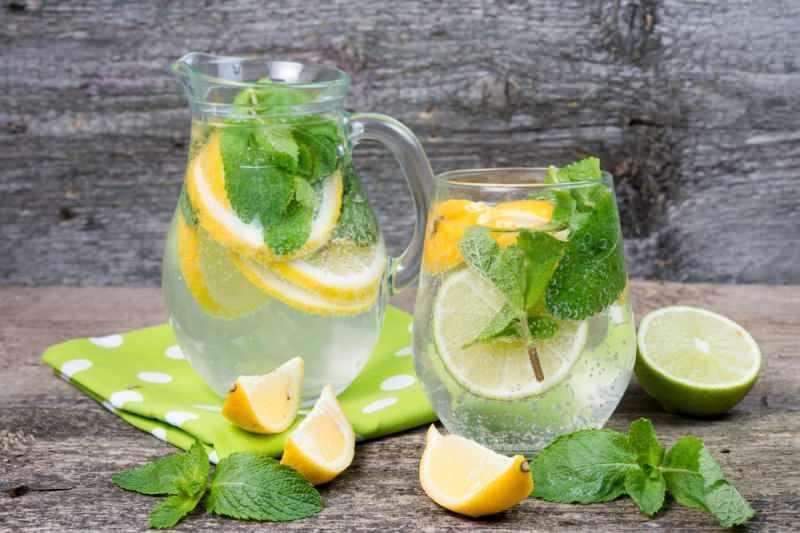 limonlu maden suyu mideyi rahatlatır