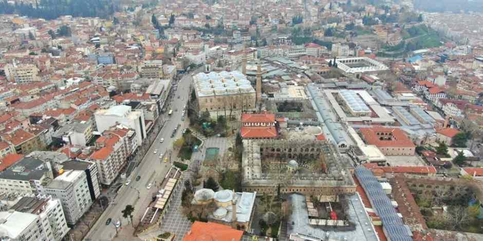 Bursa'da Tarihi Çarşı ve Hanlar Bölgesi 6 Nisan'a kadar kapalı olacak