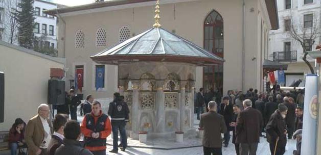 400 yıllık Hüseyin Ağa Camii dualarla açıldı