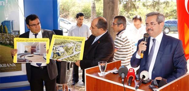 Adana'da dev kompleksin temeli 6 Ekim'de atılacak