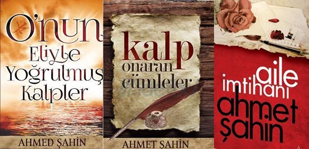 Ahmet Şahin'den 3 önemli eser