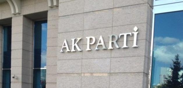 AK Parti'de 2 ilçe yönetimi görevden alındı