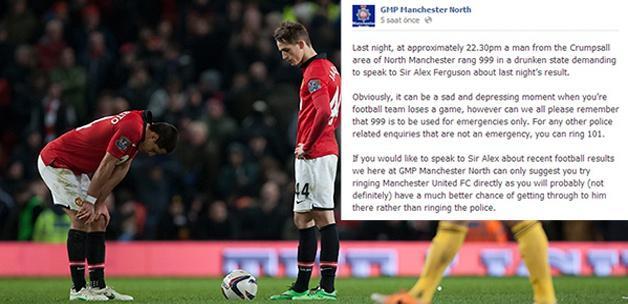 'Alo! Bana Alex Ferguson'u bağlayın!'