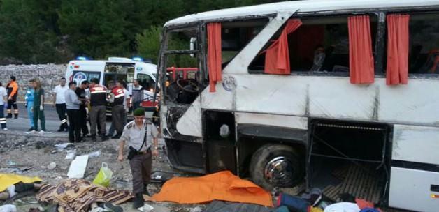 Antalya'da katliam gibi kaza: 13 ölü