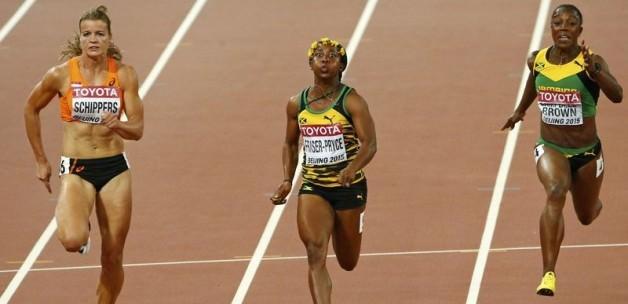 İşte dünyanın en hızlı kadını!