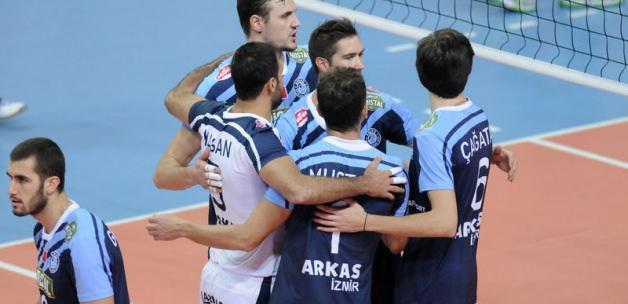 Arkas Spor Bulgar ekibini ezdi geçti!