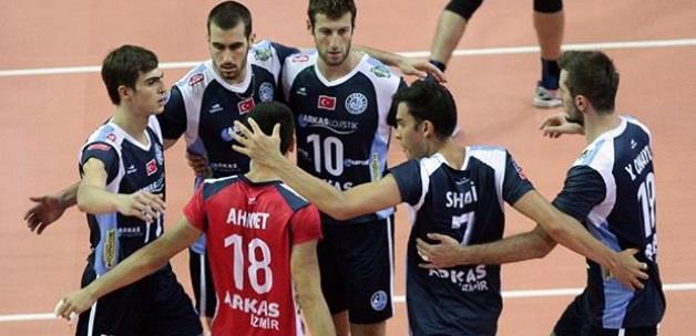Arkasspor ile Rus ekibi Belogorie'nin maçı iptal