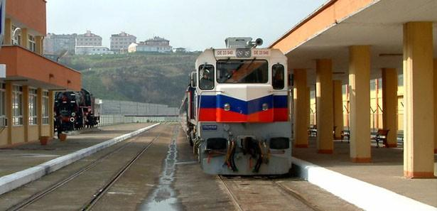 BALO'nun ilk treni 4 günde Almanya'ya ulaştı