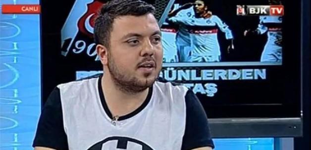 Beşiktaş TV'de olay başlık