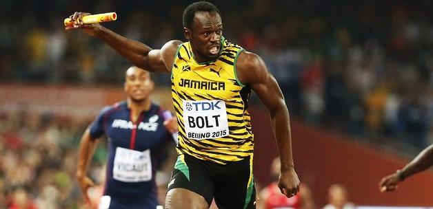Bolt yine uçtu! 4X100'e Jamaika damga vurdu