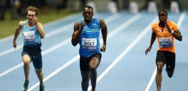 Bolt'tan yeni bir dünya rekoru!